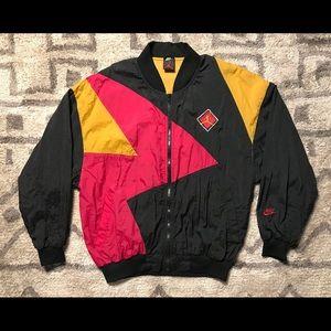Vintage 1992 Nike Windbreaker Jordan Cardinal VII